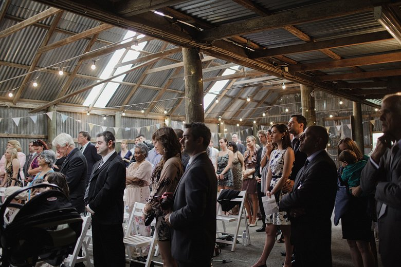Ceremony, crowd shot, the Briars