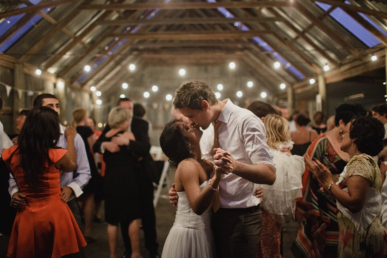 Wedding photography at the briars, first dance