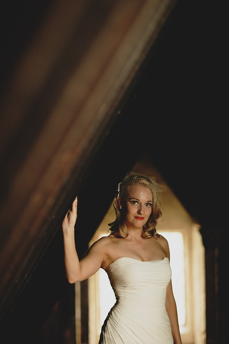 The bride, photography from the attic, Monsalvat
