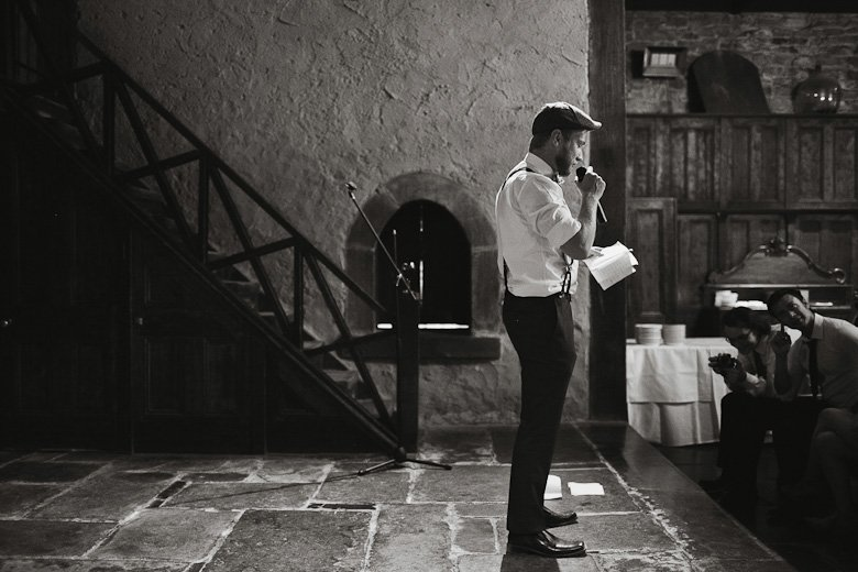 Speeches, Monsalvat wedding