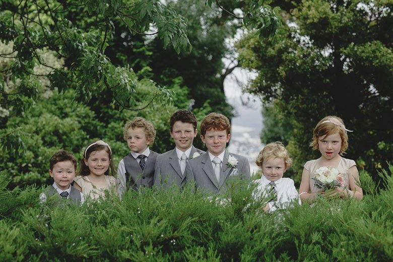 pages boys and flowergirls, hobart wedding
