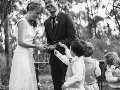 marieke & luke | boyd baker house wedding