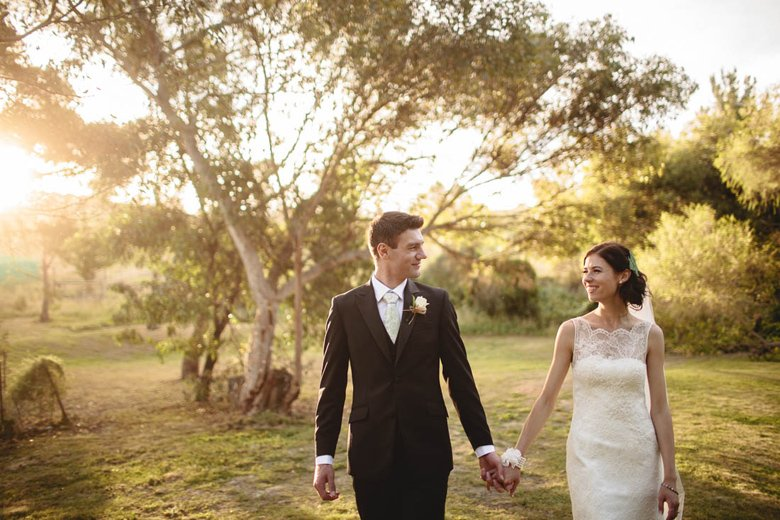 Get nice light for wedding photography at Inglewood Estate